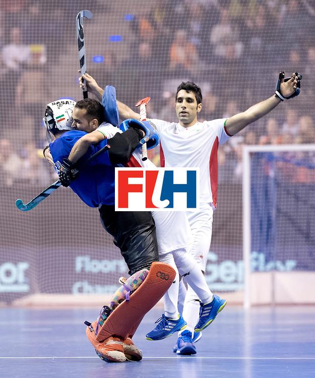 BERLIN - Indoor Hockey World Cup<br /> Bronze: Iran - Australia<br /> Iran won the 3rd place.<br /> foto: NOORANIAN Hamid.<br /> WORLDSPORTPICS COPYRIGHT FRANK UIJLENBROEK