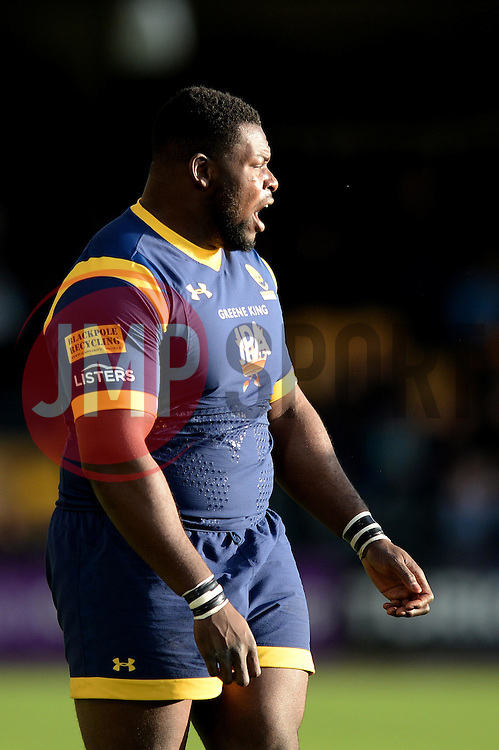 Biyi Alo of Worcester Warriors - Mandatory by-line: Dougie Allward/JMP - 22/10/2016 - RUGBY - Sixways Stadium - Worcester, England - Worcester Warriors v Brive - European Challenge Cup