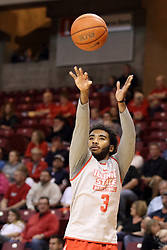 23 October 2015: Keyshawn Evans(3). Illinois State Hoopfest is an annual pre-season event to introduce the team to the fans.