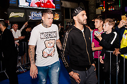 Ederson Moraes & Riyad Mahrez attends the World Premiere of Prime Video series. All or Nothing: Manchester City, at The Printworks in Manchester ahead of its release on Friday.
