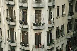 Apartment building in Havana, Cuba. (Photo © Jock Fistick)