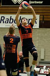 20170125 NED: Beker, Sliedrecht Sport - Seesing Personeel Orion: Sliedrecht<br />Stijn Held (3) of Seesing Personeel - Orion<br />©2017-FotoHoogendoorn.nl / Pim Waslander