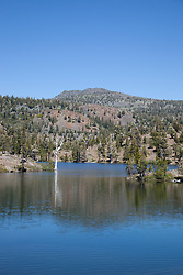 """Susie Lake 2"" - Photograph of Susie Lake along the Pacific Crest Trail in the Tahoe Desolation Wilderness."