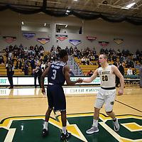 Men's Basketball: St. Norbert College Green Knights vs. University of Wisconsin-Stout Blue Devils