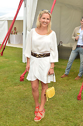 HANNELI RUPERT at the Cartier Queen's Cup Final 2016 held at Guards Polo Club, Smiths Lawn, Windsor Great Park, Egham, Surrey on 11th June 2016.