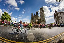 Breakaway cycling along church, Stage 3 Armagh » Dublin, Giro d'Italia, Dublin, Ireland, 11th May 2014, Photo by Thomas van Bracht / www.pelotonphotos.com