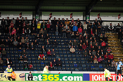 Bristol City fans at Wycombe Wanderers - Photo mandatory by-line: Joe Dent/JMP - Tel: Mobile: 07966 386802 08/10/2013 - SPORT - FOOTBALL - London Road Stadium - Peterborough - Peterborough United V Brentford - Johnstone Paint Trophy