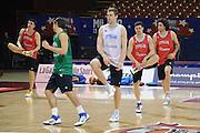 MILANO 12 MARZO 2011<br /> BASKET ALL STAR GAME<br /> ALLENAMENTO NAZIONALE ITALIANA<br /> NELLA FOTO MELLI<br /> FOTO CIAMILLO CASTORIA