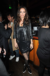 SASHA VOLKOVA at a party to celebrate the 10th anniversary of the Myla lingerie brand held at Almada, 17 Berkeley Street, London on 17th November 2010.