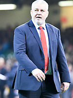 Rugby Union - 2018 Autumn Internationals (Under Armour Series) Wales vs. Tonga<br /> <br /> Wales coach Warren Gatland in his 100th test, at The Millennium Stadium.<br /> <br /> COLORSPORT/WINSTON BYNORTH
