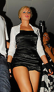 09.AUGUST.2007. LONDON<br /> <br /> A VERY DRUNK LOOKING CHANELLE LEAVING EMBASSY AT 3.00AM DRESSED UP LIKE VICTORIA BECKHAM AND NOT DOING A VERY GOOD JOB AND THEN ARRIVING BACK AT HER HOTEL POUTING AWAY.<br /> <br /> BYLINE: EDBIMAGEARCHIVE.CO.UK<br /> <br /> *THIS IMAGE IS STRICTLY FOR UK NEWSPAPERS AND MAGAZINES ONLY*<br /> *FOR WORLD WIDE SALES AND WEB USE PLEASE CONTACT EDBIMAGEARCHIVE - 0208 954 5968*