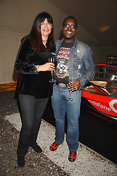 MR & MRS ORLANDO HAMILTON at an evening with racing driver Lewis Hamilton held at The Hempel Hotel, 31-35 Craven Hill Gardens, London W2 on 4th July 2007.<br /><br />NON EXCLUSIVE - WORLD RIGHTS
