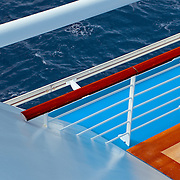 Textures and Colors of a cruise ship
