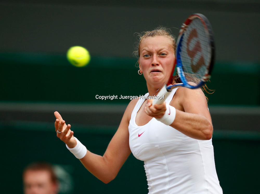 Wimbledon 2010,Sport, Tennis, ITF Grand Slam Tournament, Petra Kvitova (CZE)..Foto: Juergen Hasenkopf..