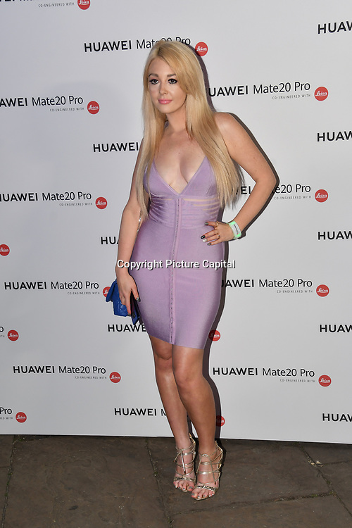 Jodie Weston attend Huawei - VIP celebration at One Marylebone London, UK. 16 October 2018.