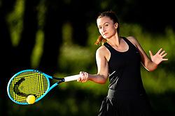 Dalila Jakupovic, professional tennis player at promo photoshoot, on June 12, 2016 in Tennis Sobec, Bled, Slovenia. Photo by Matic Klansek Velej / Sportida