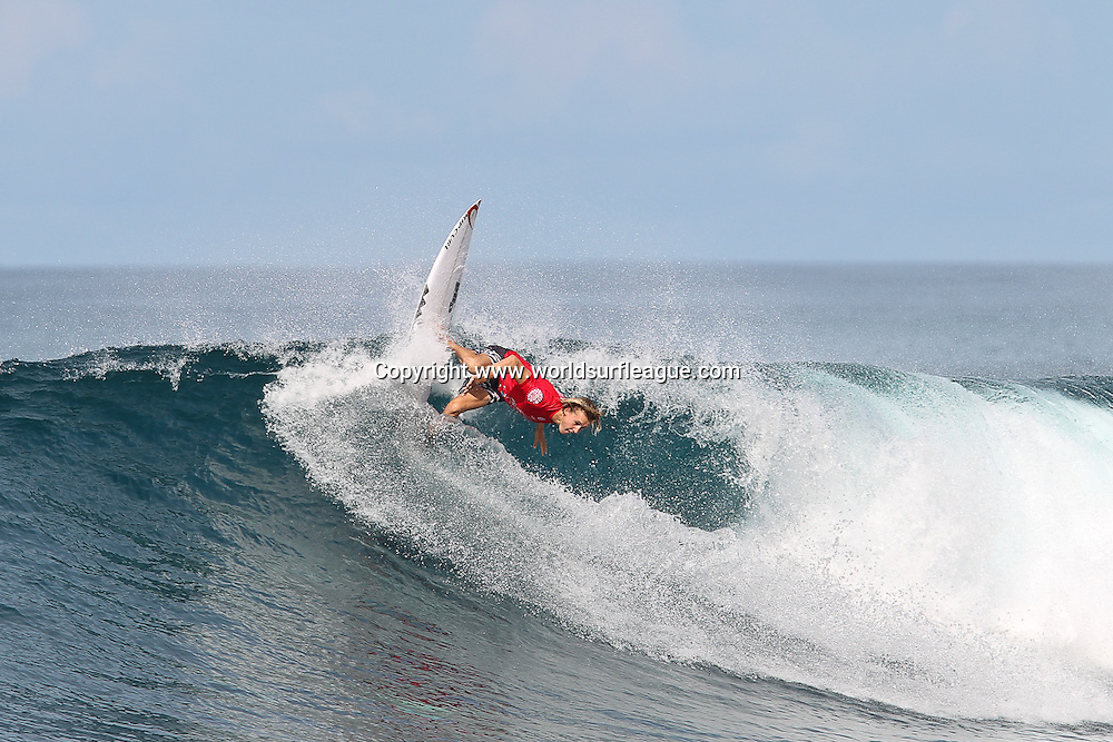 Jacob Wilcox.<br /> Round 2 of the Mentawai Pro presented by Rip Curl has been completed in outstanding conditions at the world famous break of Lance&rsquo;s Right. Competitors were greeted once again with clean four-foot waves for one of the World Surf League&rsquo;s (WSL) most remote Qualifying Series (QS) event.<br /> Copyright photo: www.worldsurfleague.com