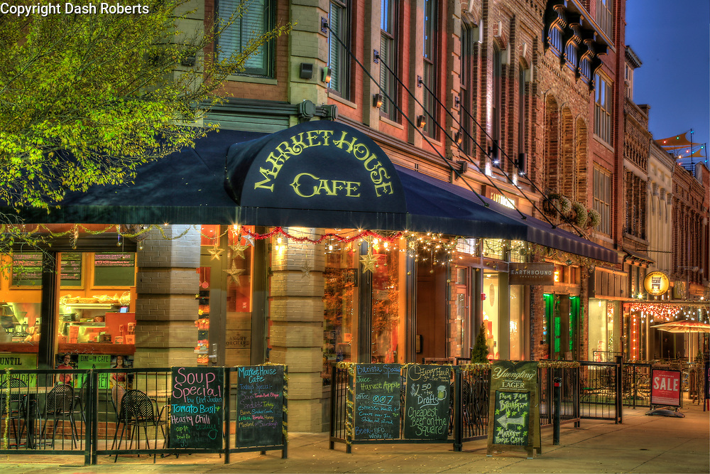 Market House Cafe on Market Square in downtown Knoxville, TN.