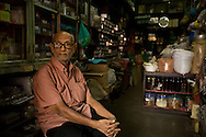 A Chiang Mai spice and herbal medicine dealer. This gentleman's family came to Thailand from India 100 years ago.