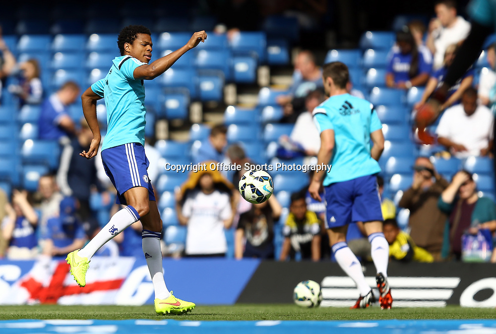13 September 2014 - Barclays Premier League - Chelsea v Swansea City - Loic Remy of Chelsea during the warm up  Photo: Marc Atkins / Offside.