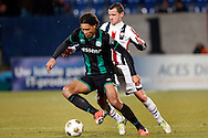 Onderwerp/Subject: Willem II - FC Groningen - Eredivisie<br /> Reklame:  <br /> Club/Team/Country: <br /> Seizoen/Season: 2012/2013<br /> FOTO/PHOTO: Robbie HAEMHOUTS (BEHIND) of Willem II in duel with Virgil VAN DIJK (FRONT) of FC Groningen. (Photo by PICS UNITED)<br /> <br /> Trefwoorden/Keywords: <br /> #04 $94 ±1355238911262<br /> Photo- & Copyrights © PICS UNITED <br /> P.O. Box 7164 - 5605 BE  EINDHOVEN (THE NETHERLANDS) <br /> Phone +31 (0)40 296 28 00 <br /> Fax +31 (0) 40 248 47 43 <br /> http://www.pics-united.com <br /> e-mail : sales@pics-united.com (If you would like to raise any issues regarding any aspects of products / service of PICS UNITED) or <br /> e-mail : sales@pics-united.com   <br /> <br /> ATTENTIE: <br /> Publicatie ook bij aanbieding door derden is slechts toegestaan na verkregen toestemming van Pics United. <br /> VOLLEDIGE NAAMSVERMELDING IS VERPLICHT! (© PICS UNITED/Naam Fotograaf, zie veld 4 van de bestandsinfo 'credits') <br /> ATTENTION:  <br /> © Pics United. Reproduction/publication of this photo by any parties is only permitted after authorisation is sought and obtained from  PICS UNITED- THE NETHERLANDS