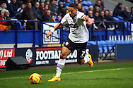 Liam Feeney of Bolton Wanderers  in action. Skybet football league championship match, Bolton Wanderers v Huddersfield Town at the Macron stadium in Bolton, Lancs on Saturday 29th November 2014.<br /> pic by Chris Stading, Andrew Orchard sports photography.