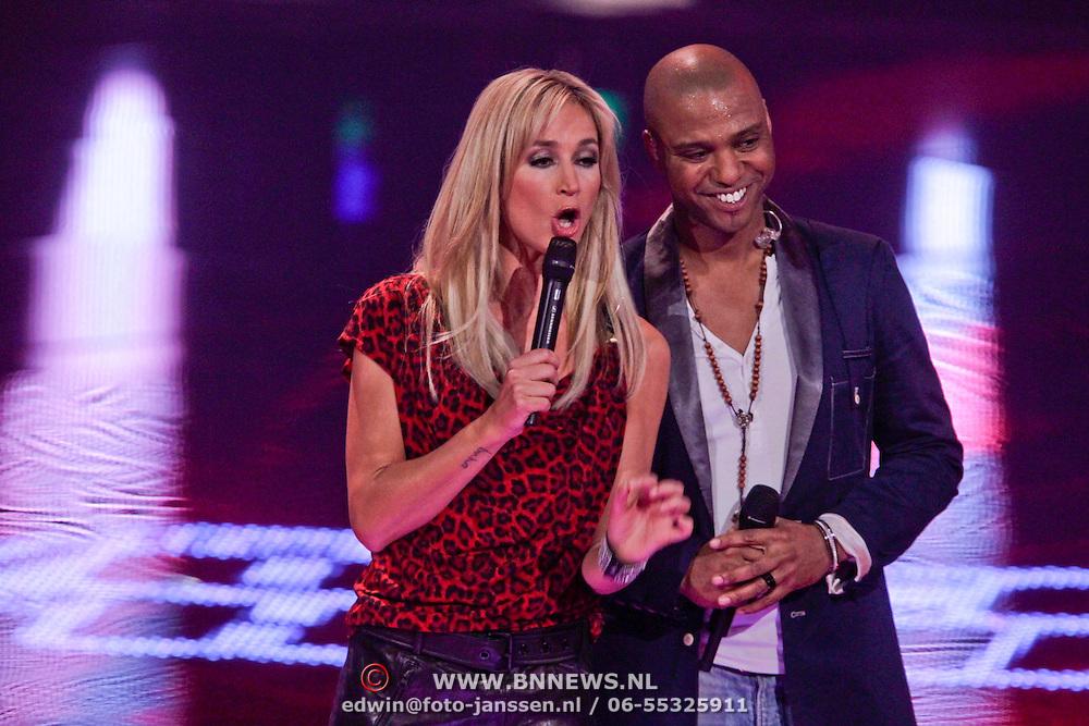 NLD/Hilversum/20111209- The Voice of Holland 2011, 2de live uitzending, Ivanildo Kembel