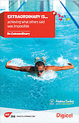 "Special Olympics swimmer, Andrew Smiley for Digicel's ""Be Extraordinary"" ad campaign."