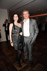 DUNCAN WARD and MOLLIE DENT-BROCKLEHURST at a party following the premier of Boogie Woogie held at The Westbury Hotel, Conduit Street, London on 13th April 2010.