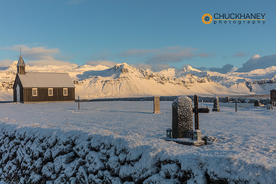Budir black church on the Snaefellsnes peninsula in western Iceland