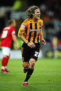Hull Saturday september 18th, 2010: Jimmy Bullard of Hull City  during the NPower Championship Match at the KC Stadium,Hull. (Pic by Darren Walker/Focus Images)..