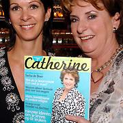 NLD/Amsterdam/20070315 - Lancering nieuw blad Catherine van Catherine Keyl, Catherine en uitgeefster Annemarie van Gaal