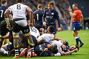 Fiji became unravelled during the 2018 Autumn Test match between Scotland and Fiji at Murrayfield, Edinburgh, Scotland on 10 November 2018.