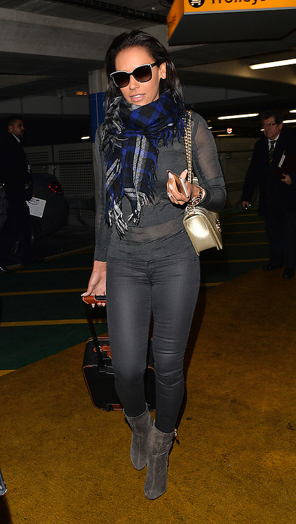 Melanie Brown aka Mel B arriving at Heathrow airport in London, UK. 21/01/2015<br /> BYLINE MUST READ : GOTCHAIMAGES.COM<br /> <br /> Copyright by &copy; Gotcha Images Ltd. All rights reserved.<br /> Usage of this image is conditional upon the acceptance <br /> of Gotcha Images Ltd, terms and conditions available at<br /> www.gotchaimages.com