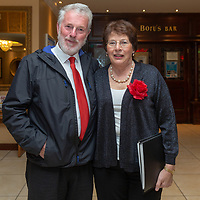 John and Noreen Shalloo from Kilmihil, members of the forever young choir who performed on the night