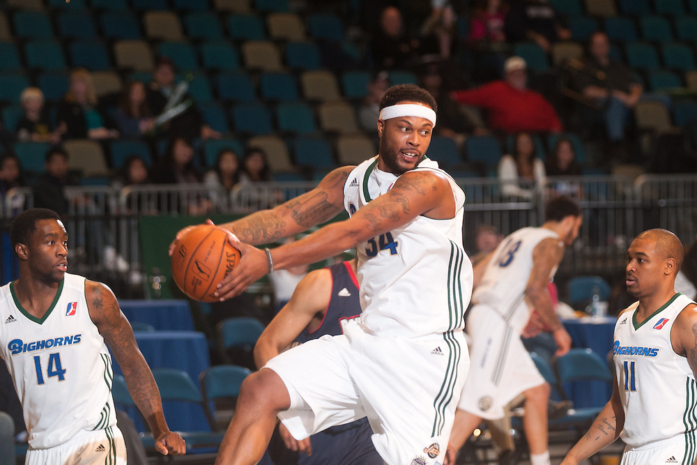 RENO, NV - DECEMBER 7:  Reno Bighorns vs. Bakersfield Jam on December 7, 2012 at the Reno Events Center in Reno, Nev..  NOTE TO USER: User expressly acknowledges and agrees that, by downloading and/or using this photograph, User is consenting to the terms and conditions of the Getty Images License Agreement.  Mandatory Copyright Notice: Copyright 2012 NBAE (Photo by David Calvert/NBAE via Getty Images)*** Local Caption ***