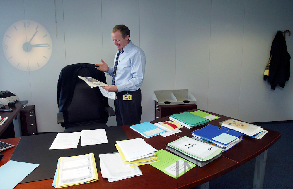 BRUSSELS - BELGIUM - 23 JANUARY 2006 -- Claus Haugaard SØRENSEN (Sorensen, Soerensen) Director-General of Directorate-General for Communication.   PHOTO: ERIK LUNTANG /