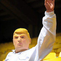 Donald Trump. Day two of the 2017 HSBC World Sevens Series Wellington at Westpac Stadium in Wellington, New Zealand on Sunday, 29 January 2017. Photo: Dave Lintott / lintottphoto.co.nz