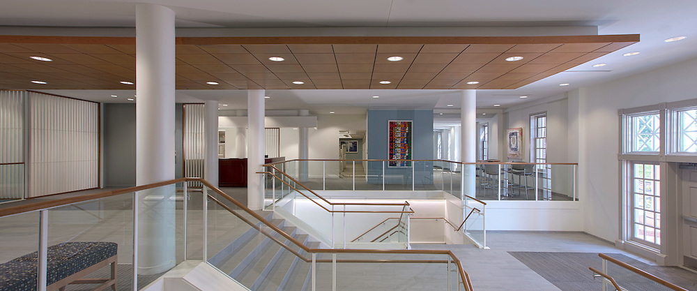 Interior Design Image of the University of MD University College SFSC building in College Park Maryland by Jeffrey Sauers of Commercial Photographics