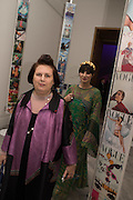 SUZY MENKES; GRACE WOODWARD, Vogue100 A Century of Style. Hosted by Alexandra Shulman and Leon Max. National Portrait Gallery. London. WC2. 9 February 2016.