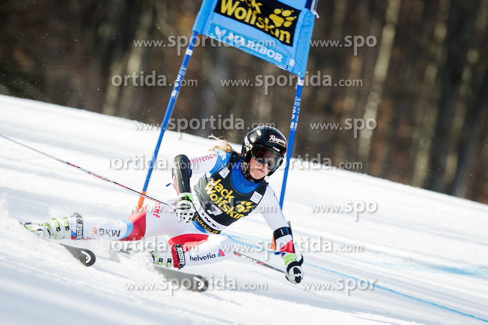 Lara Gut (SUI) during Ladies' Giant slalom at 52nd Golden Fox - Maribor of Audi FIS Ski World Cup 2015/16, on January 30, 2016 in Pohorje, Maribor, Slovenia. Photo by Ziga Zupan / Sportida