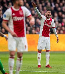 21-01-2018 NED: AFC Ajax - Feyenoord, Amsterdam<br /> Ajax was met 2-0 te sterk voor Feyenoord / Hakim Ziyech #10 of AFC Ajax