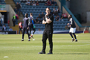 12th May 2018, Dens Park, Dundee, Scotland; Scottish Premier League football, Dundee versus Partick Thistle; Partick Thistle manager Alan Archibald