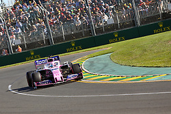 March 15, 2019 - SERGIO PEREZ during Friday Practice at the Australian Formula 1 Grand Prix in Melbourne on March 15, 2019  (Credit Image: © Christopher Khoury/Australian Press Agency via ZUMA  Wire)