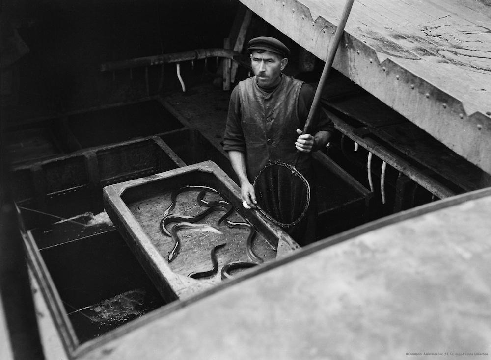 Dutch Eel Boats, London, 1934