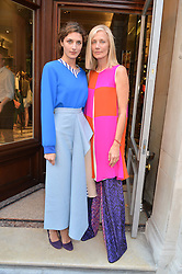 Left to right, DASIY BEVAN and JOELY RICHARDSON at the opening of Roksanda - the new Mayfair Store for designer Roksanda Ilincic at 9 Mount Street, London on 10th June 2014.