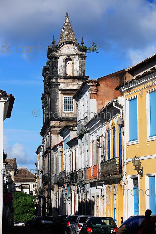 pelourinho area in the beautiful city of salvador in bahia state brazil