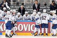 Dave henderson - 09.05.2015 - Canada  / France  - Championnats du Monde de Hockey sur Glace 2015 -Prague<br />Photo : Xavier Laine / Icon Sport