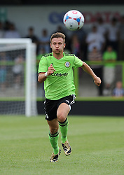 Forest Green Rovers Matt Taylor - Photo mandatory by-line: Dan Rowley/JMP  - Tel: Mobile:07966 386802 20/07/2013 -Forest Green Rovers  vs Bristol City  - SPORT - FOOTBALL - Forest Green Rovers - Bristol city  -