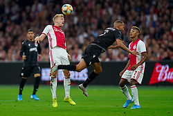 13-08-2019 NED: UEFA Champions League AFC Ajax - Paok Saloniki, Amsterdam<br />  Ajax won 3-2 and they will meet APOEL in the battle for a group stage spot / Donny van de Beek #6 of Ajax,